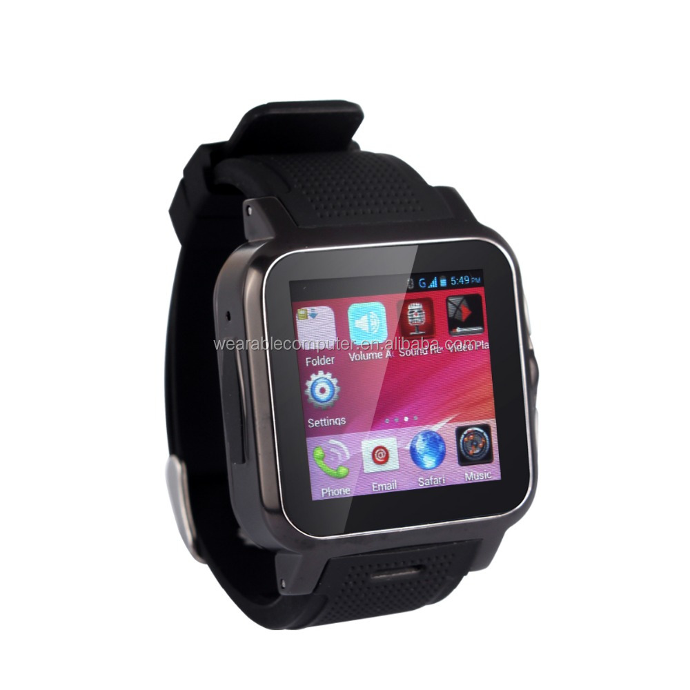 2016 Factory wholesale android smart watch android 4.04 smart watch / support SIM card/<strong>WIFI</strong>/GPS/GSM