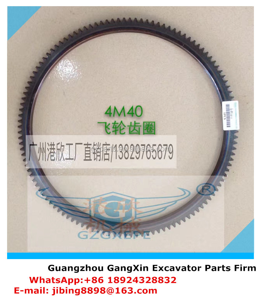 High Quality Diesel Engine 4M40 Fly Wheel Gear Ring 120T for Excavator