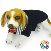 Cute Small Dog Clothes Black Pet Summer T Shirt Shirts Free Dog Clothes Patterns Apparel Clothing Heated Dog Clothes For Party