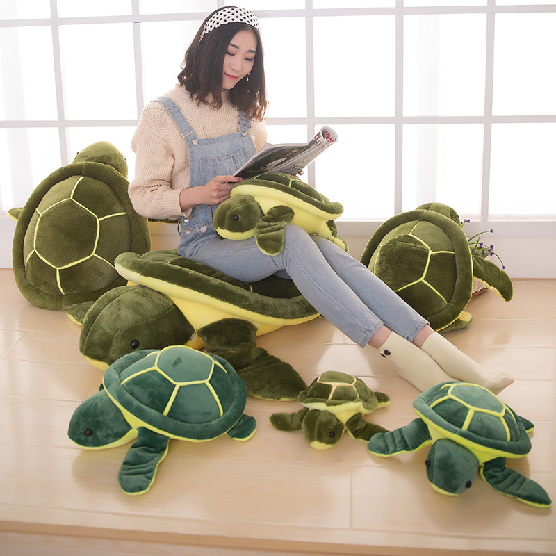 Cute Pure Cotton Fabric Kid Plush Toys Plush Turtle