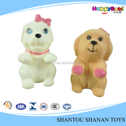 Promotional gift 2 color soft rubber dog toy