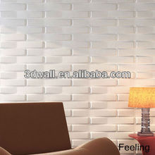 MDF wallpanel fire retardant wallpaper for home decoration