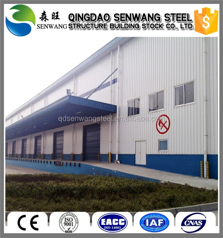 low cost prefabricated steel structure warehouse in mexico