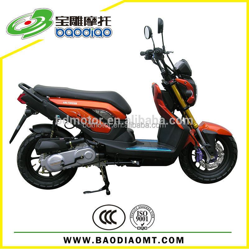 X-ZOOMER Fashion New Chinese Cheap Gas Scooters Motorcycles For Sale Motor Scooters 125cc 4 Stroke Motor Engine