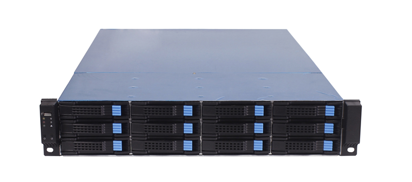 DAOHE Hot swap Storage Chassisi 2U 12bays Server case