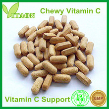 800 mg Chewy ISO,GMP Certificate and OEM Private Label Chewy Vitamin C Tablets for vitamin c effervescent tablet