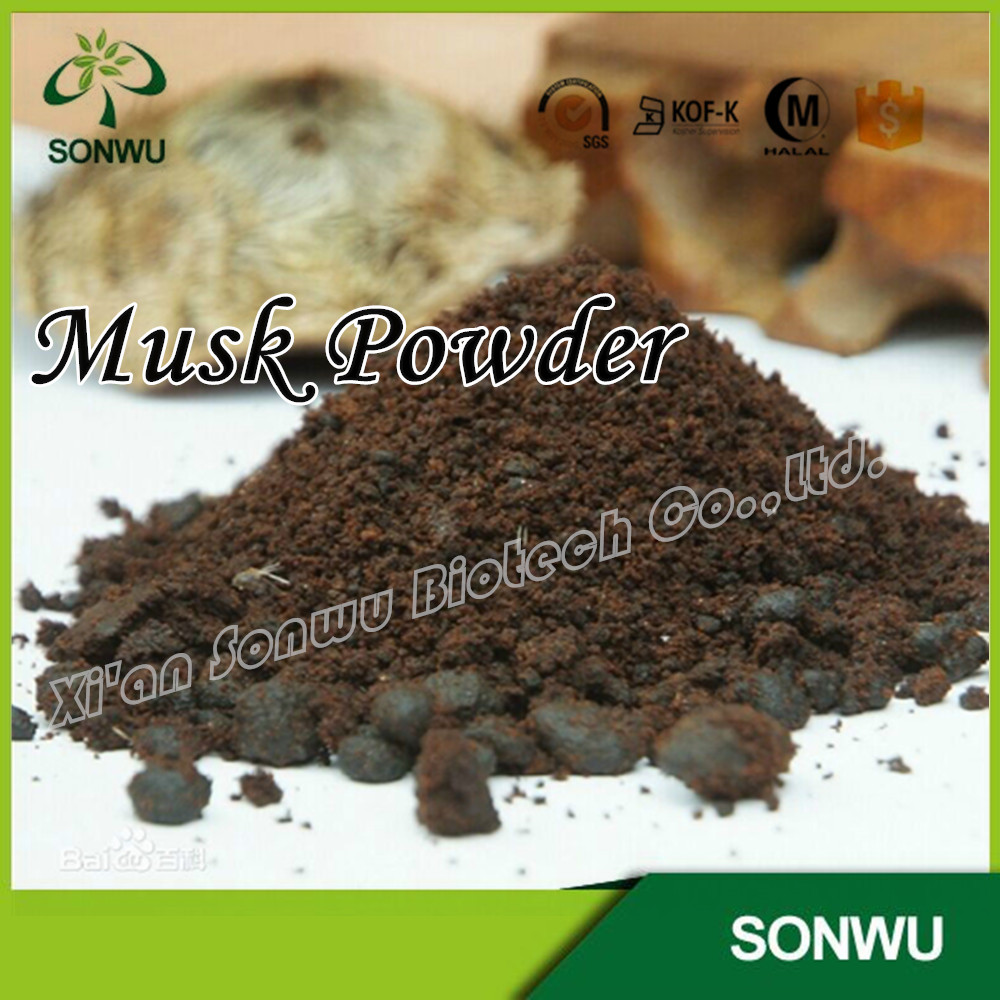 Musk deer extract powder/musk powder