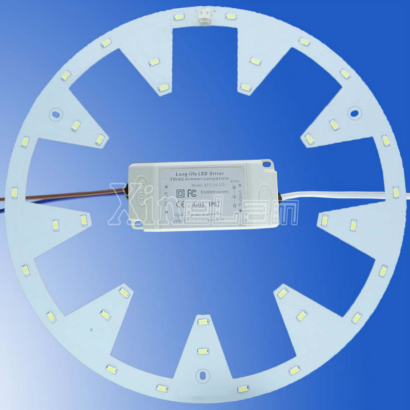 Gear-shaped Aluminium Led Pcb Board For Ceiling Light Replacement ...