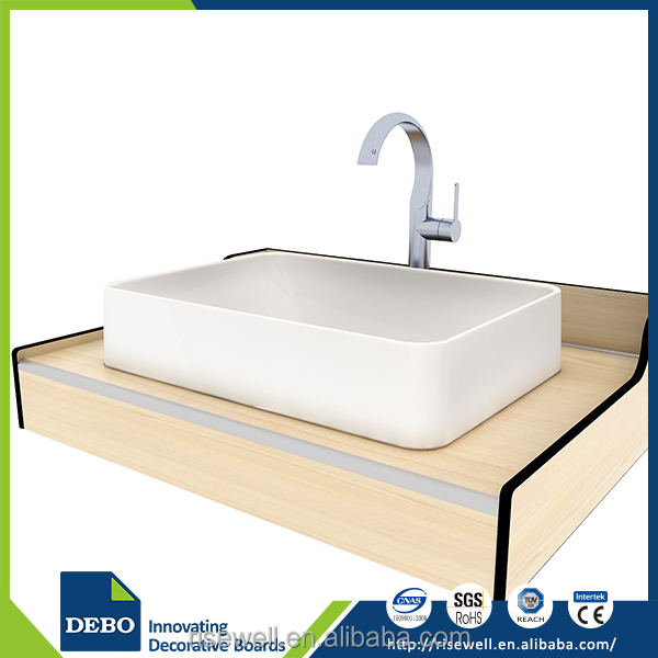 Gold supplier china home depot bathroom countertop