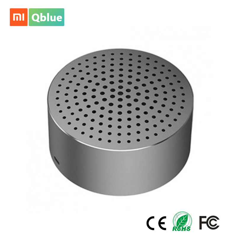 Xiaomi Wireless Bluetooth Speaker Metal Steel Handfree Stereo Square Box HIFI Subwoofer Portable Mini Speaker For Phone