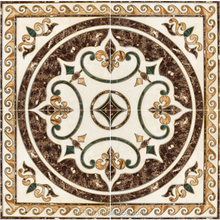 Factory Direct Sale Polished Golden Crystal Porcelain 3D Flooring Carpet Tiles AVP1212315-1