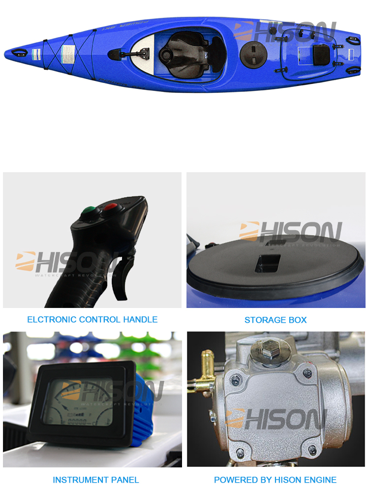 Hison HS006-J6C152cc 4-Stroke 1-Cylinder Engine Closed-loop Cooling System kayak motorcycles