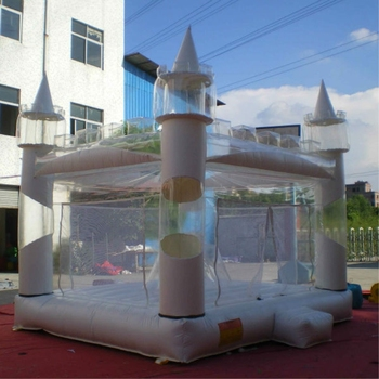Clear inflatable bouncer/inflatable bouncy castle for sale