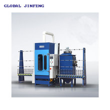JFP2500 Automatic Glass Sandblasting /Frosting Machine, PLC control, Automatic and manual machine