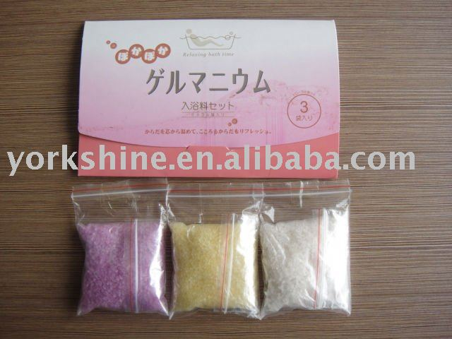 all kind of fragrance and color hotel bath salt