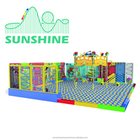 Funny Games Naughty Fort/Commercial Kids Indoor Ocean ball Playground