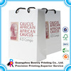 Cottom ropes waterproof paper bag customized printing