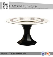 Modern Appearance restaurant dining tables and chairs furniture & round table & rotating dining table
