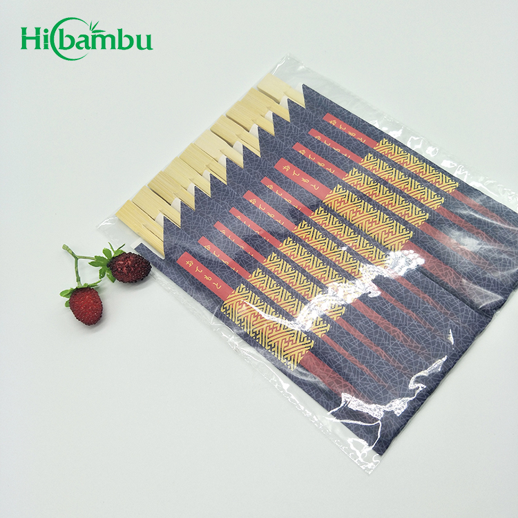 Wholesale High Quality Dining Disposable Bamboo Twin Chopsticks