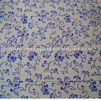 Print pvc chair mat