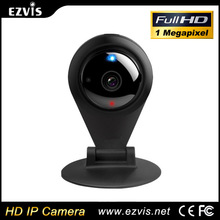 720P 1.0Megapixel with Microphone, MicroSD, Reset, Free IOS and Android APP Cloud Application Wireless cheap wifi ip camera