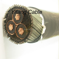 3X95mm2 11KV Copper XLPE Insulated Power Cable YJV22