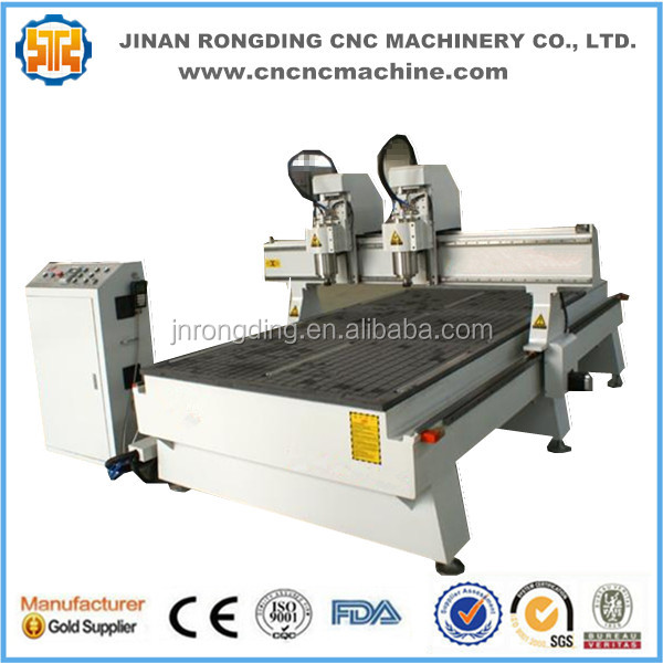 Wood door carving cnc router 1325/2030 furniture making machine price