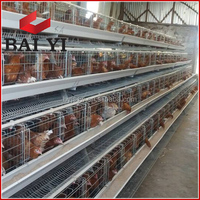 A Type, 3 Layer, 4 Layer Poultry Farm Cage for Layer Chicken/Broiler Chicken