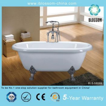 Stone resin freestanding bath tubs buy stone resin for Freestanding stone resin bathtubs