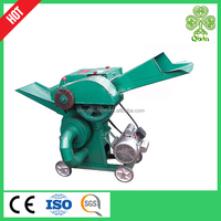 mini electric agricultural machinery chaff cutter / straw chopper machine
