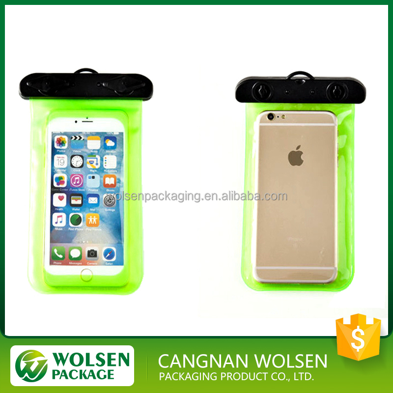 2016 hot sale new style CE customized pvc waterproof bag case cell phone