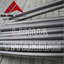 Gr9 titanium round bars ASTM B348 forged for industrial use titanium rods with metal grey