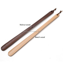 Top Quality Long Handle Wooden Shoe Horn