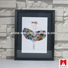 China supplier photo frame Hot sale in alibaba fancy killing china import items decor for home