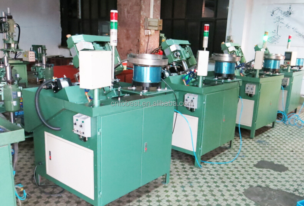 Automatic thread making machine tapping machine thread cutting machine