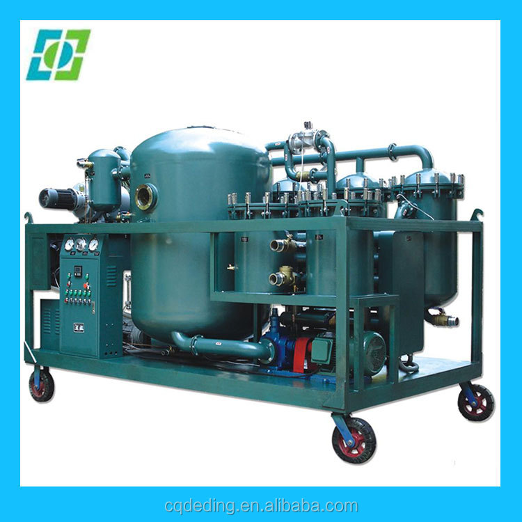 Used Oil Recycling Machine Refine black engine oil to yellow base oil