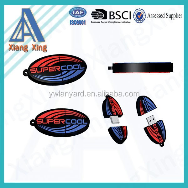 Top Selling 8GB silicon rubber usb flash drive with customized logo