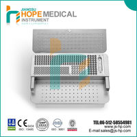 orthopedic implants instrument case for lower artificial limbs locking plates, medical equipments