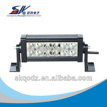 36W led off road work light bar
