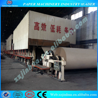 1760mm High Quality Carton Box Paper Making Machine Best Prices, Waste Paper Recycling Occ