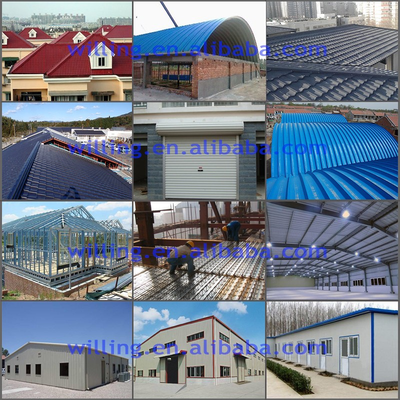 Building Material Steel Tile Roofing Roll Forming making Machine