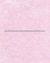 Baby Pink Bagasse Handmade Papers for Scrapbooking, Art and Crafts, etc