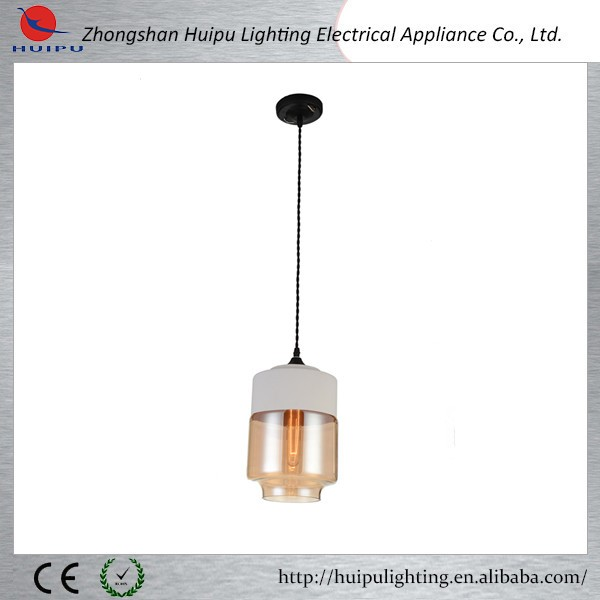 modern white glass metal pendant lamp chandelier