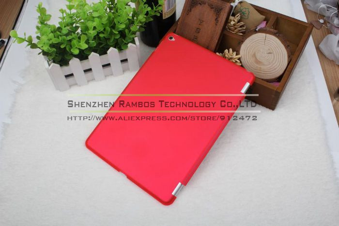 9.7 inch Tablet PC Hard Plastic Matte Frosted Back Cover Case for iPad air 2 for iPad 6