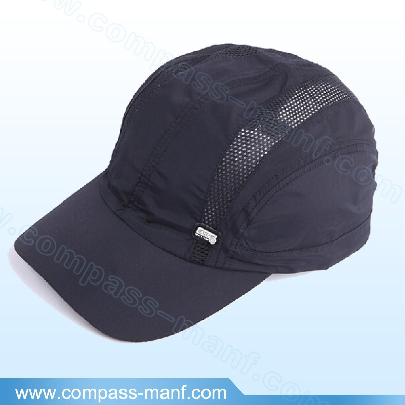 blue acrylic mesh breathable outdoor sport baseball polo caps