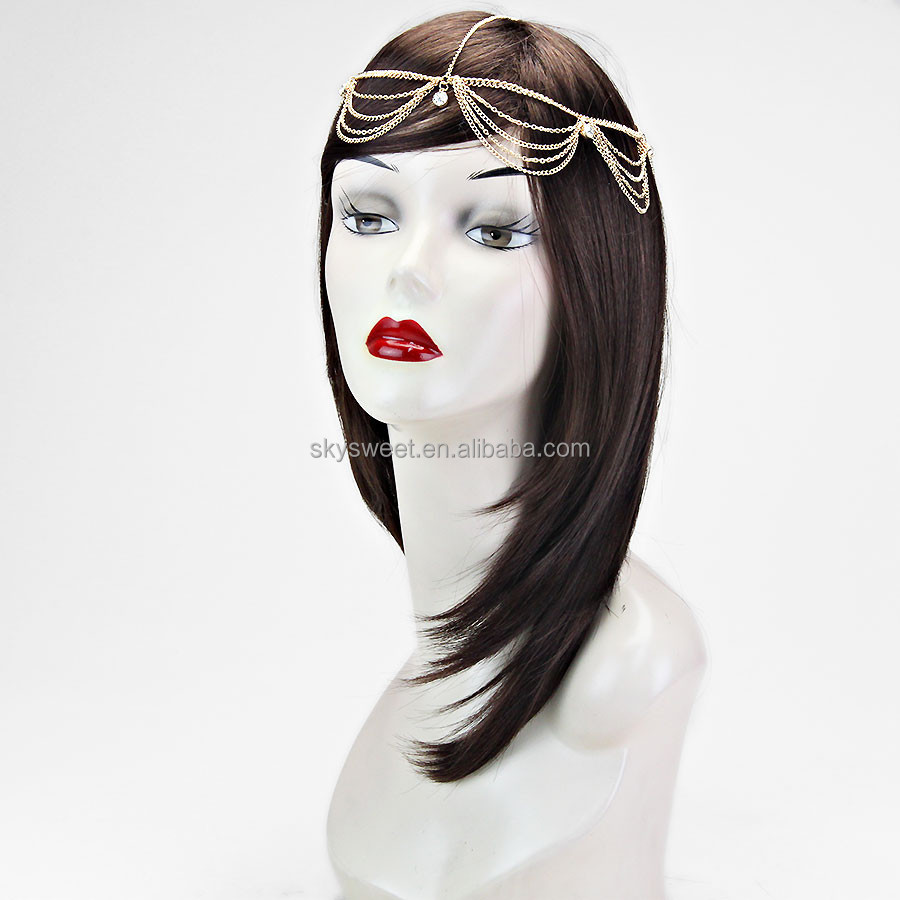 Crystal fringe head chain,accessory hair and jewelry