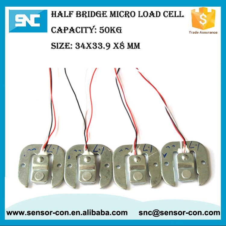 Half Bridge Cheap Price Mini Household Kitchen Weight Scale Load Cells 50Kg
