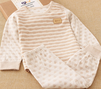 S12325A Hot cotton boys warm cothing sets kids clothes