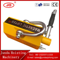 High performance Strong suction Powerful permanent magnetic lifter for steel plate