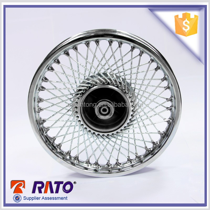 14 inch high recommended motorcycle spoke wheel rim for 70cc